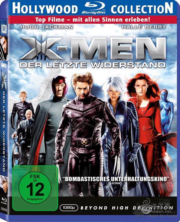 [X战警3][BluRay-720P.MKV][3.19G][电影种子][中英字幕]