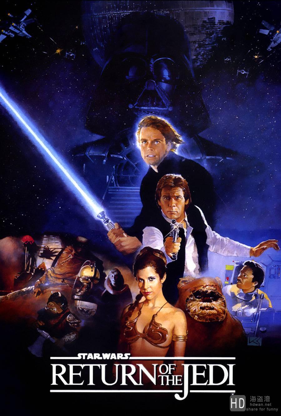 [科幻] 星球大战1-6部合集 Star.Wars.I-VI.BluRay.720p.x264.AC3-WOFEI 国英双语