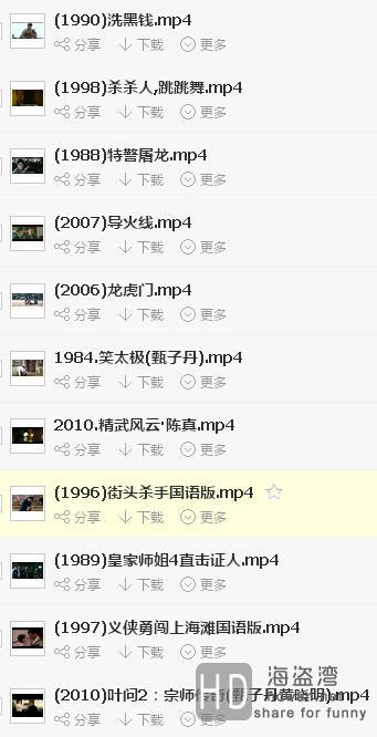 甄子丹电影合集(1984至2011)