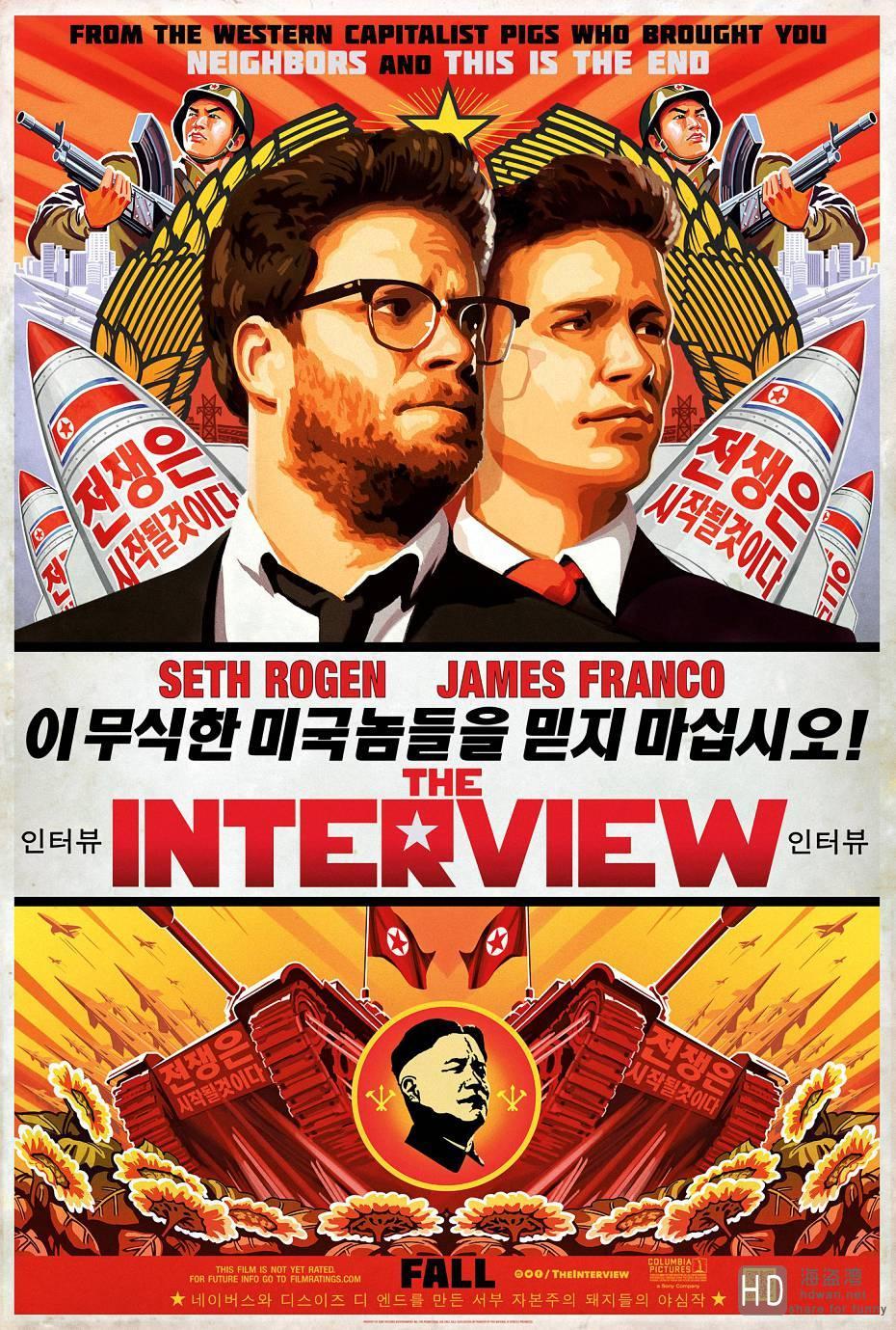 [2014][美国][刺杀金正恩 The Interview][最新高清下载]