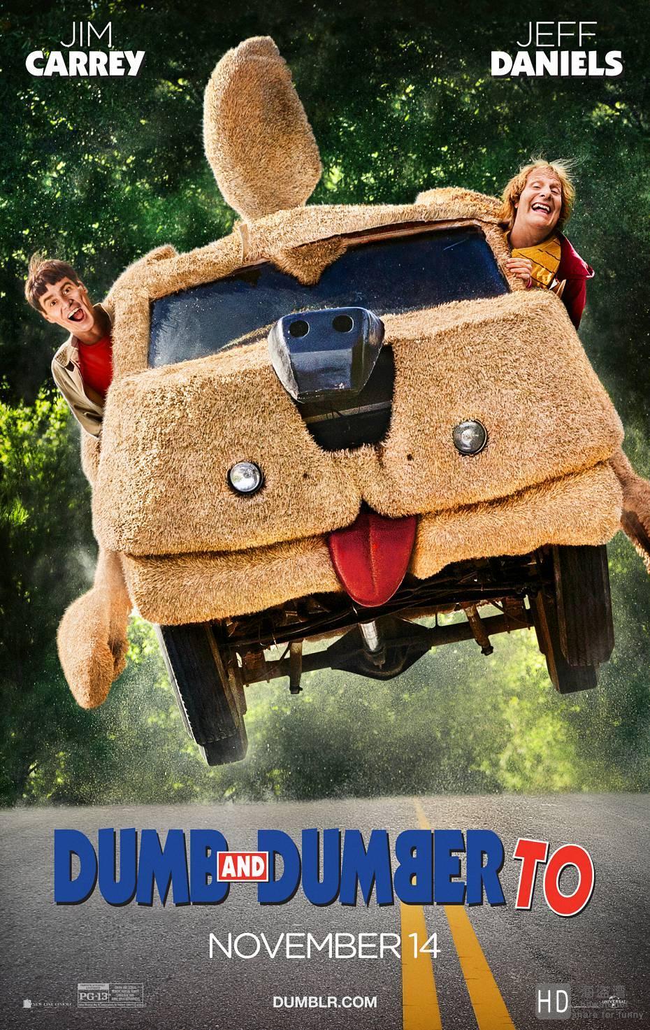 阿呆与阿瓜2 Dumb and Dumber To (2014)