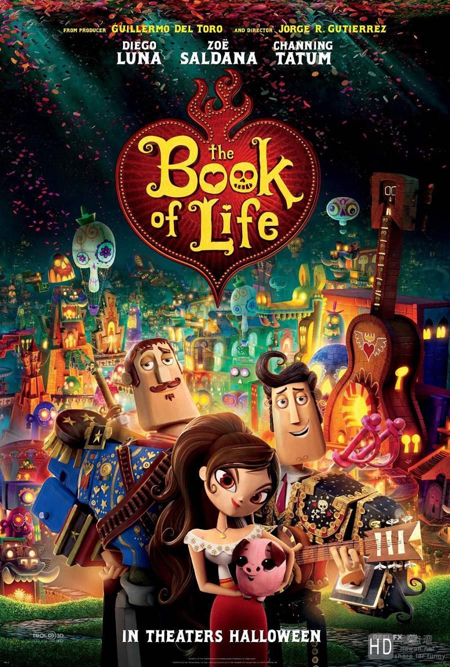 [2014][美国][生命之书 The Book of Life][DVD/MKV/BT下载]