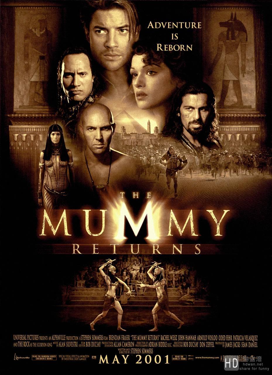 [2001][美国][木乃伊归来 The Mummy Returns][1080P/高清电影下载]