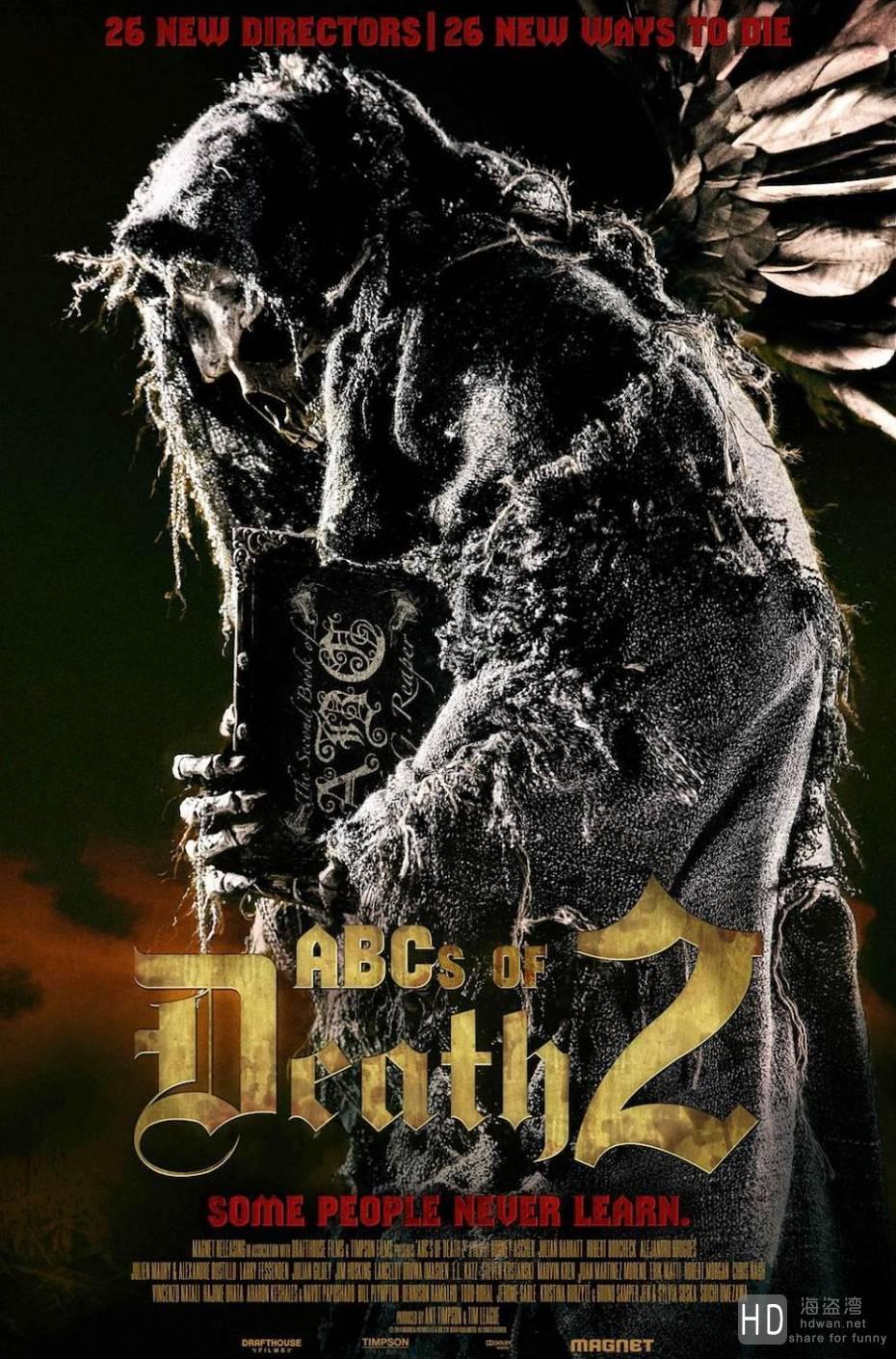 [2014][美国][26种新死法2 The ABCs of Death 2][720P/高清电影下载]