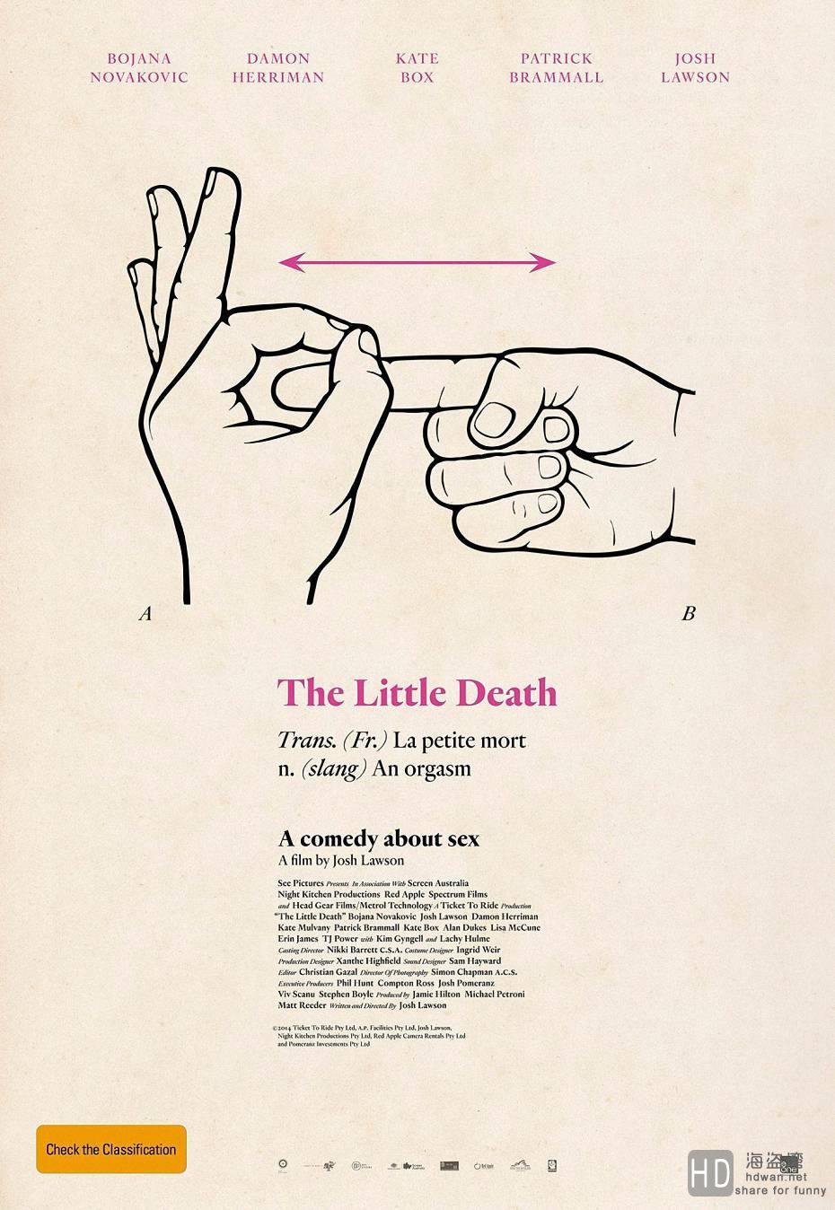 [2014][澳大利亚][爱的那点性事 The Little Death][1080P/高清电影下载]