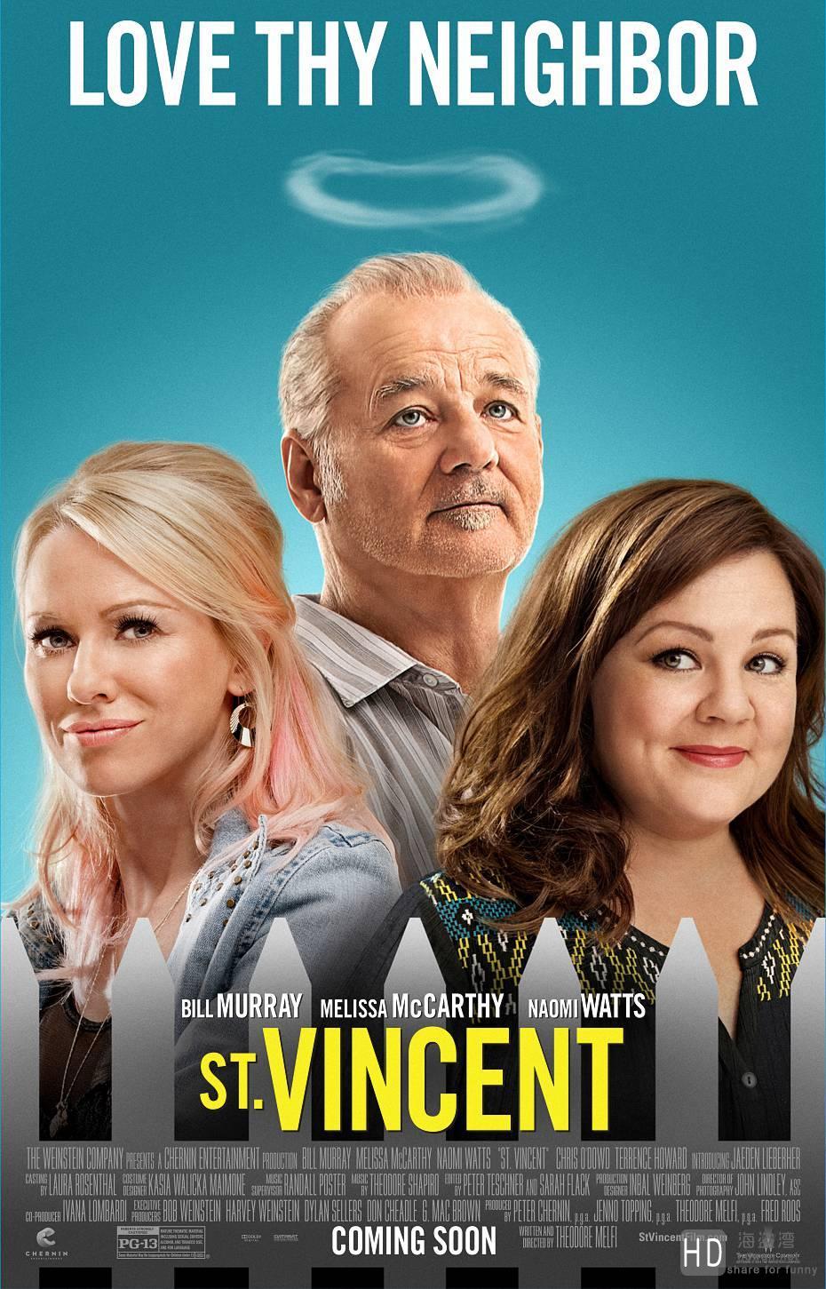 [2014][美国][圣人文森特 St. Vincent][720P/1080P/高清电影下载]
