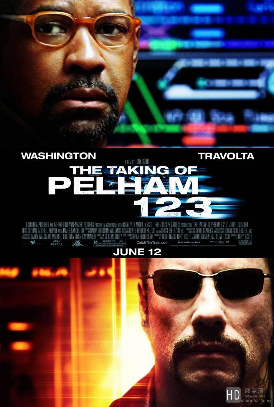 [2009][美国][地铁惊魂 The Taking of Pelham ][1080P/高清电影下载]
