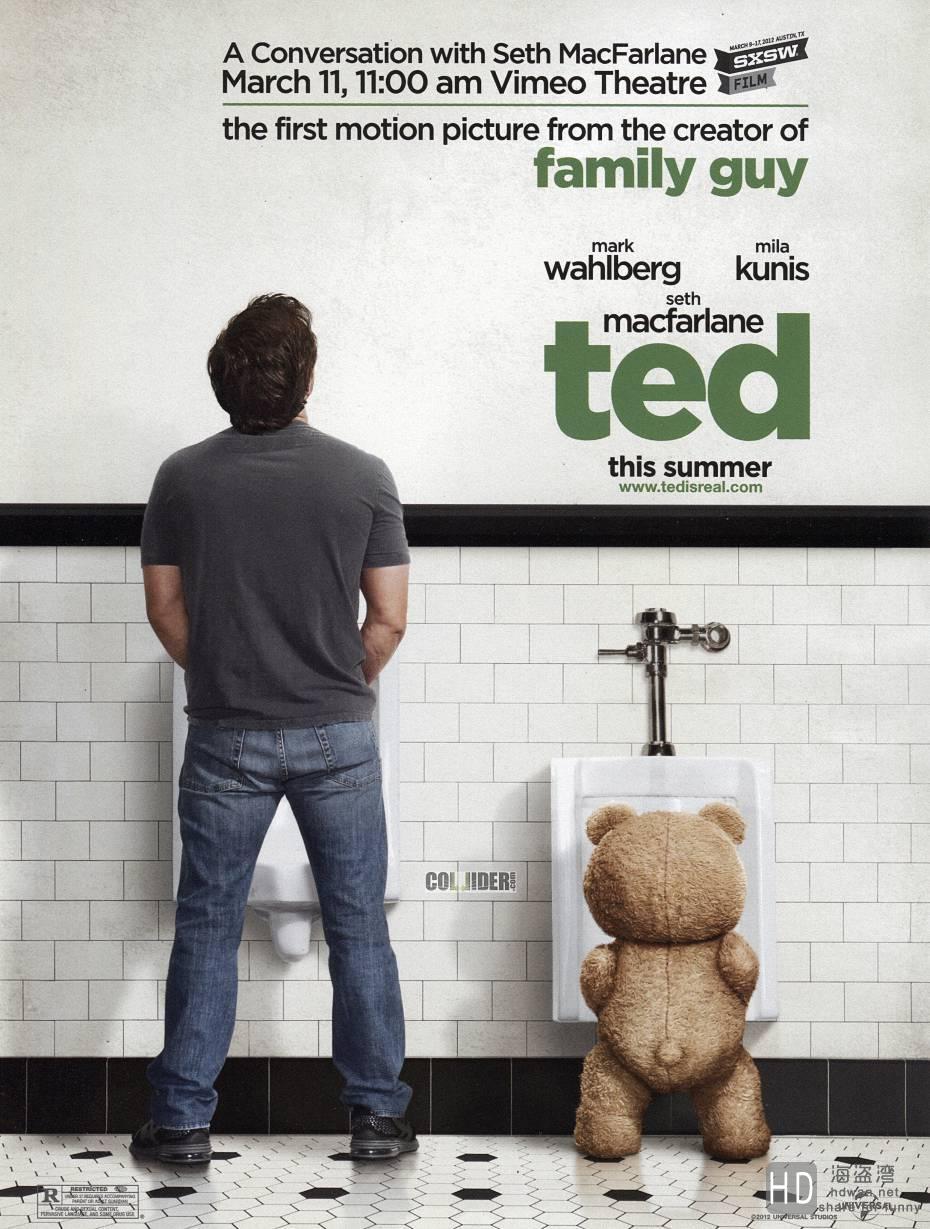 [2012][美国][喜剧][泰迪熊/Ted][720P/1080P]