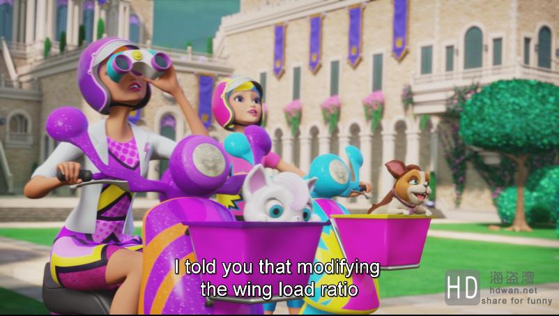[2015][美国][动漫][芭比之公主的力量][1080p 2.21GB/6.59G][中英字幕已更新]