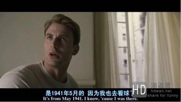 [美国队长][2011][欧美][科幻][BD-R/1.05G][中英双字]