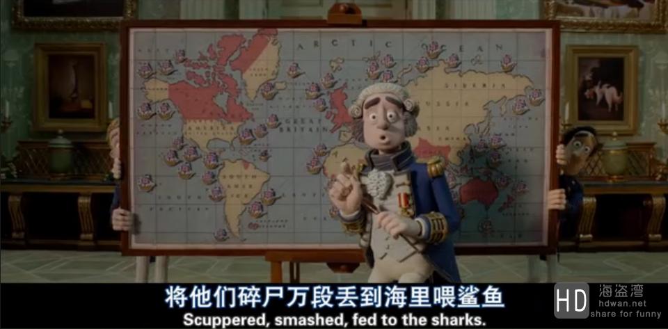 [神奇海盗团][2012][美国][动画][720P/1080P][双语字幕][国粤英三音轨]