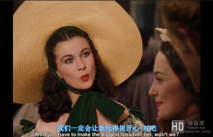 [乱世佳人(国英)][1939][欧美][剧情][BD-MP4/3.2G][中英字幕][720P]