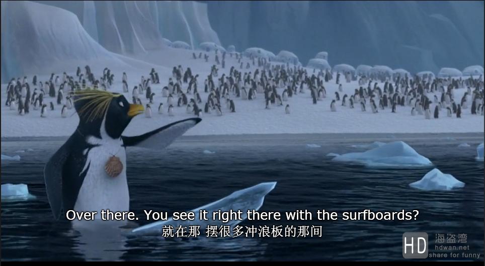 [冲浪企鹅/滑浪奇兵/冲浪季节][2007][欧美][动画][BD-MKV/2.05G][国粤英三语/中英字幕][720P]