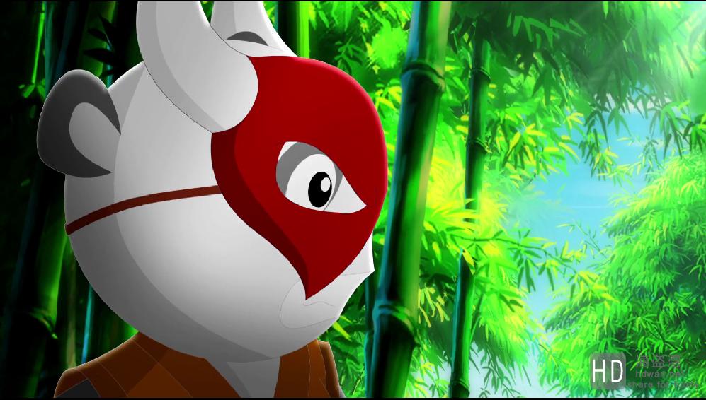 [我是大熊猫之熊猫大侠/我是大熊猫2之熊猫大侠][2015][大陆][动画][WEB-MKV/2.2G][国语中字][1080P]