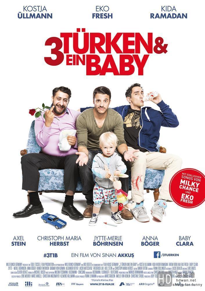 [三个土耳其人和一个婴儿][2015][欧美][喜剧][BD-MKV/904MB][外挂简中字幕]