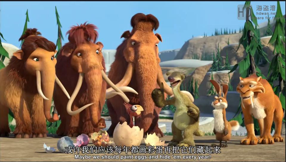 [冰河世纪:巨蛋恶作剧][2016][欧美][动画][HD-MP4/2.66GB][中英字幕][1080P]