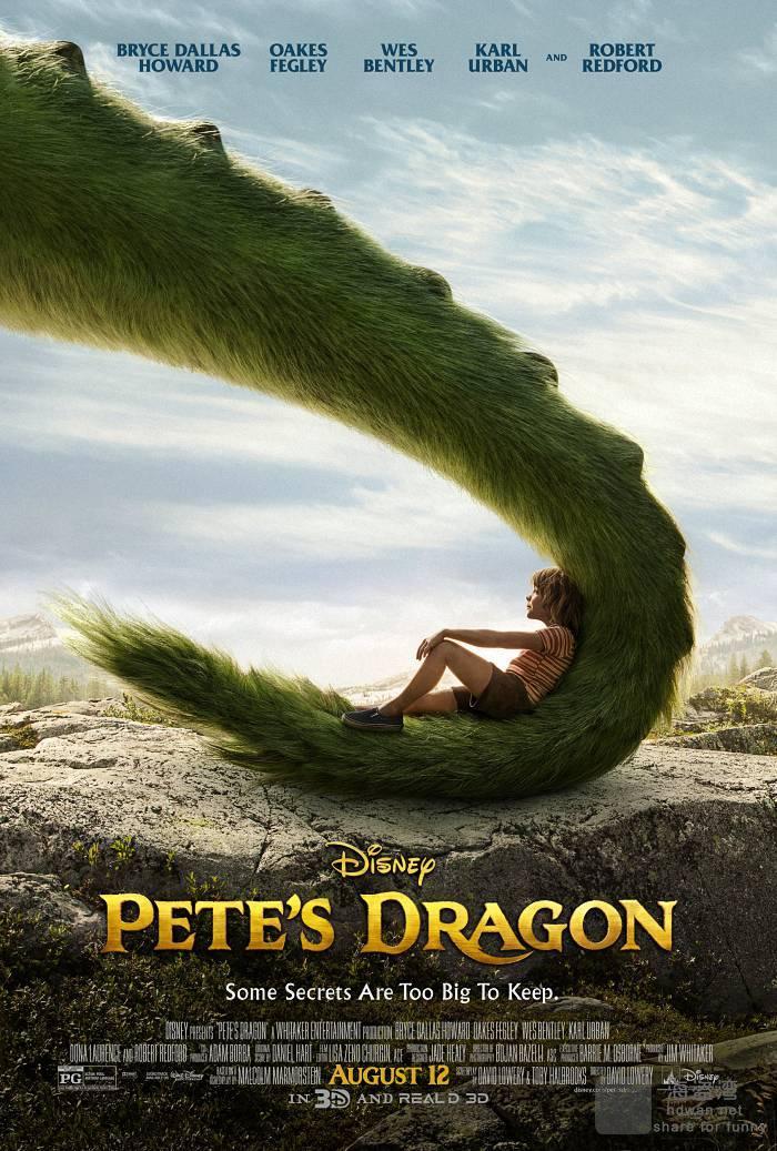 [彼得的龙/寻龙传说/妙妙龙][2016][欧美][奇幻][BD-MKV/1.02GB][英语种子][720P更新]