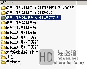 借贷宝9G不雅裸照视频泄露,看完你还敢裸条借款吗?