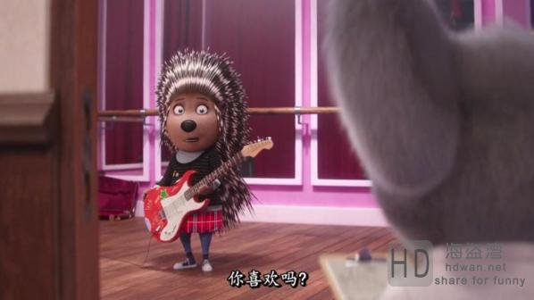 [欢乐好声音/歌唱秀/星梦动物园][2016][欧美][动画][HD-MP4/1.54G][中文字幕][720P更新]