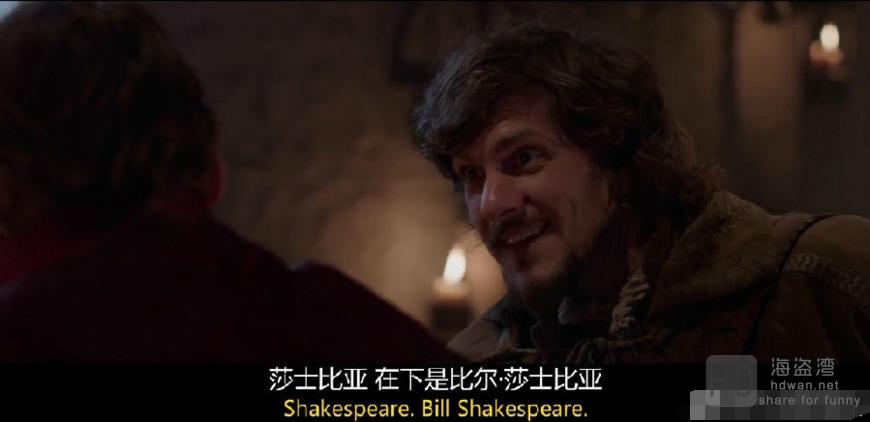 [2015][欧美][喜剧][比尔/莎士比亚外传][MKV/717MB][英语中字][720P]