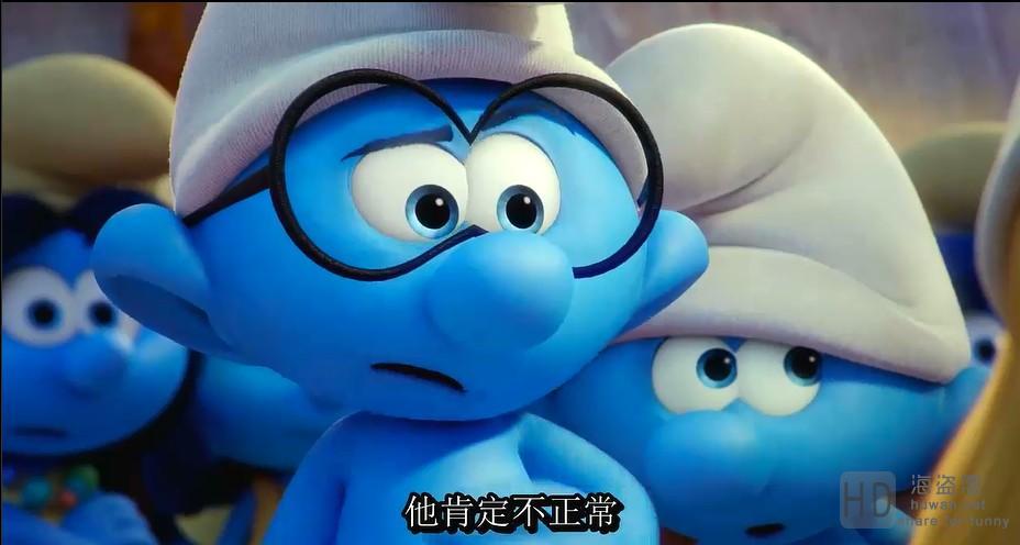 [蓝精灵:寻找神秘村][2017][欧美][动画][HD-MP4/1.35G][英语中字][720P更新]