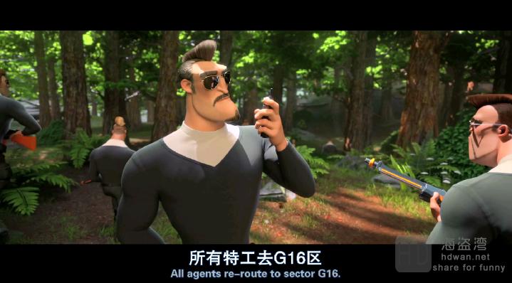 [我的爸爸是森林之王/大脚的儿子][2017][比利时/法国][喜剧/动画][1080P-2.25GB][中文字幕]